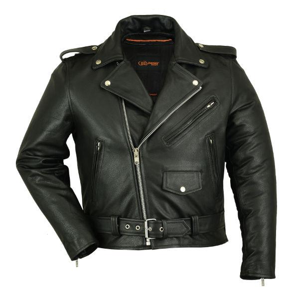 old school leather jacket with removable liner. Black Bedroom Furniture Sets. Home Design Ideas