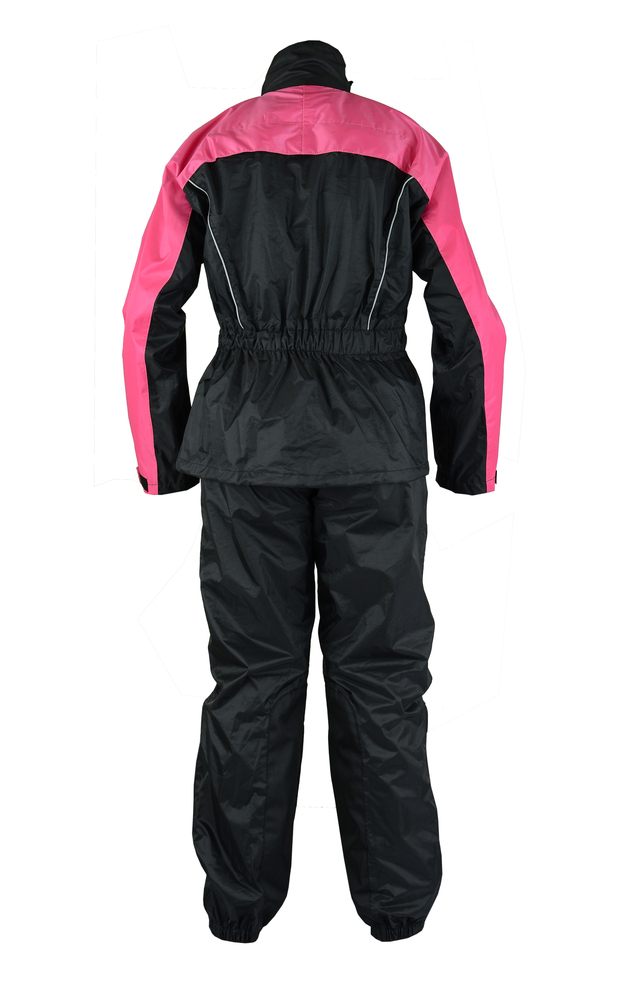 Ds598pk Women S Rain Suit Hot Pink Rain Suits