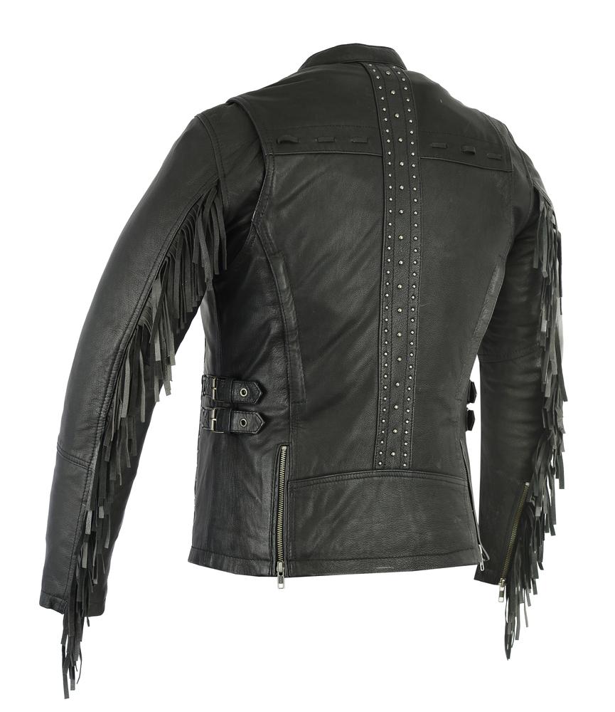 DS880 Women's Stylish Jacket With Fringe