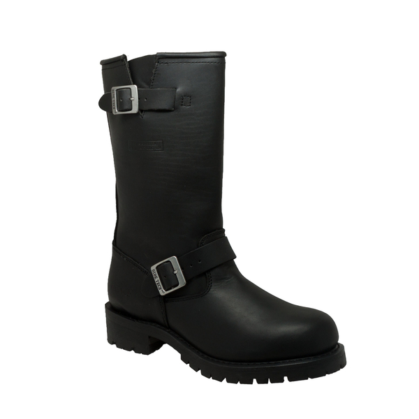 1440 Men's Black Engineer Soft | Men's Boots
