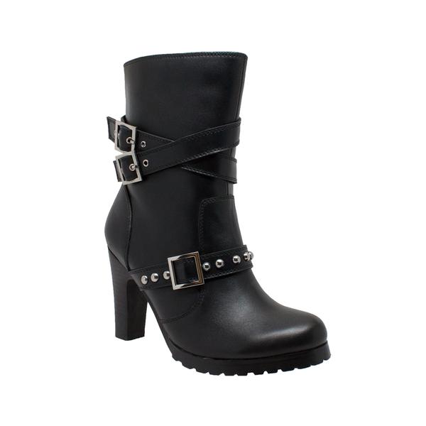 8545 Women's 3-Buckle Boot with Heel | Women's Boots