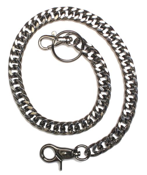 J2002 20-Inch Gun Metal Wallet Chain | Wallet Chains/Key Leash