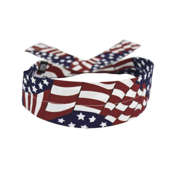 DC265 Cooldanna Wavy American Flag | Head/Neck/Sleeve Gear