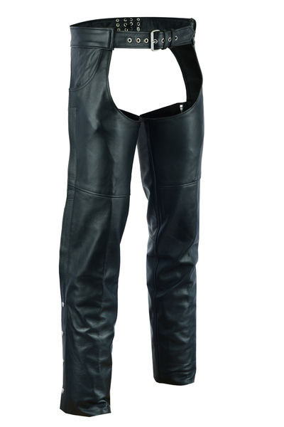 DS402    Unisex Chaps with 2 Jean Style Pockets | Chaps
