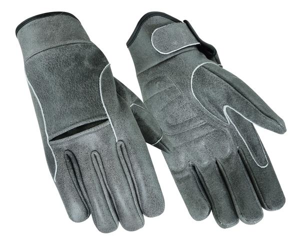 DS42V Premium Gray Cruiser Glove | Men's Lightweight Gloves