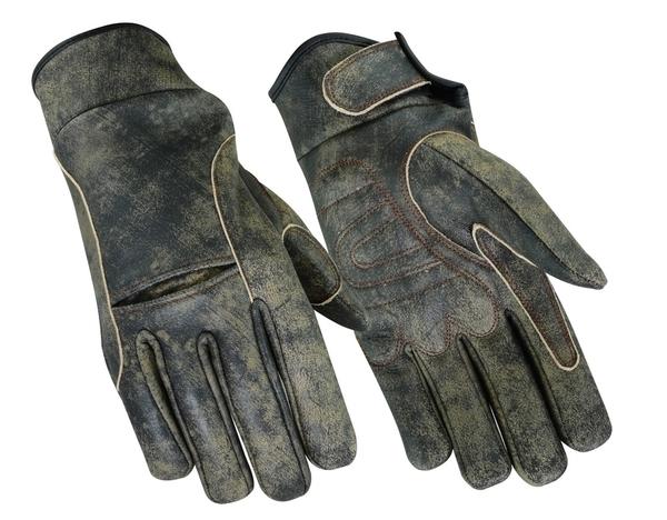 DS42B Premium Antique Brown Cruiser Glove | Men's Lightweight Gloves