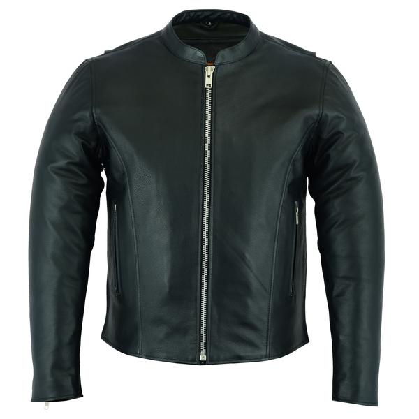 DS738 Men's Classic Scooter Jacket | Men's Leather Jackets
