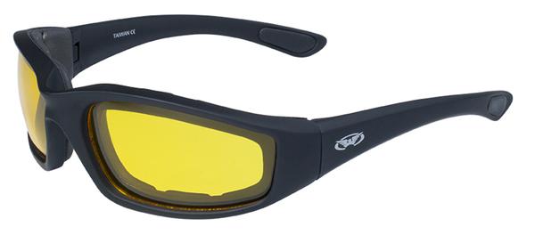 Kickback-YT Kickback Foam Padded Yellow Tint Lenses | Sunglasses