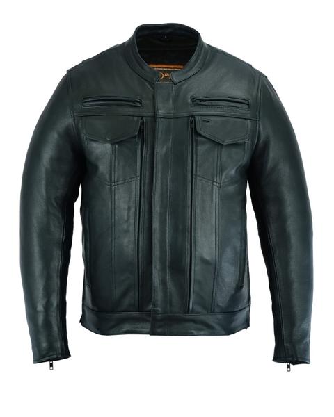 DS787 Men's Modern Utility Style Jacket   Men's Jackets