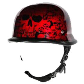Wholesale Novelty Helmets | H14 Novelty German Chrome - Non- DOT