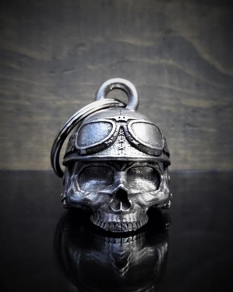 BB-30 Motorcycle Helmet Skull Bell | Bravo Bells
