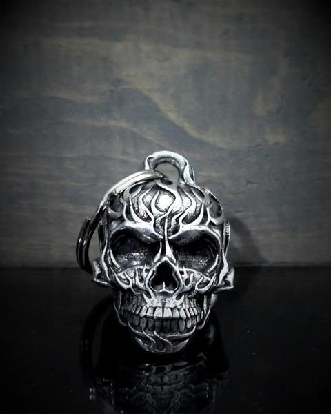 BB-53 Flame Skull Bell | Bravo Bells