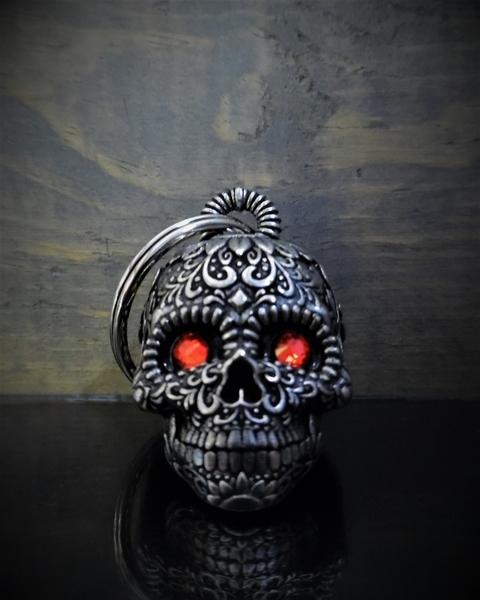 BB-77 Sugar Skull Diamond Bell | Bravo Bells