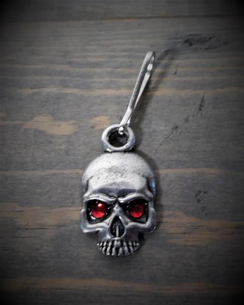 BZP-36 Skull Diamond Zipper Pull | Zipper Pulls