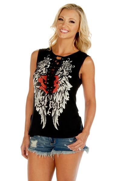 7570BLK Rock Star | Women's Shirts