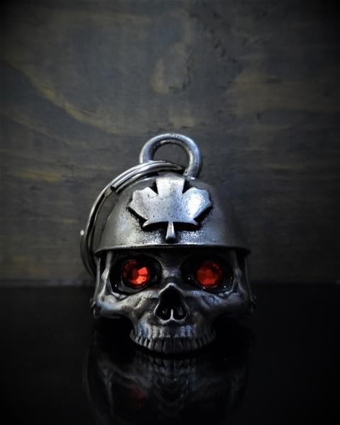 BB-71 Canadian Helmet Diamond Bell | Bravo Bells