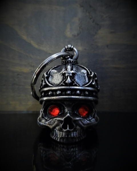 BB-75 King Skull Diamond Bell | Bravo Bells