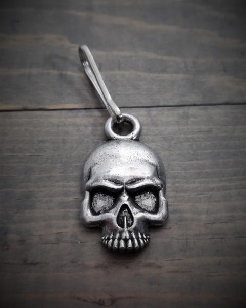 BZP-26 Skull Zipper Pull | Zipper Pulls