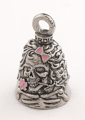 GB Lady Skull W Guardian Bell® GB Lady Skull W/Pink | Guardian Bells