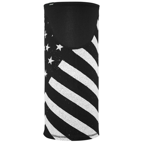 TW091 Tube, Windproof, Black & White Flag   Head/Neck/Sleeve Gear