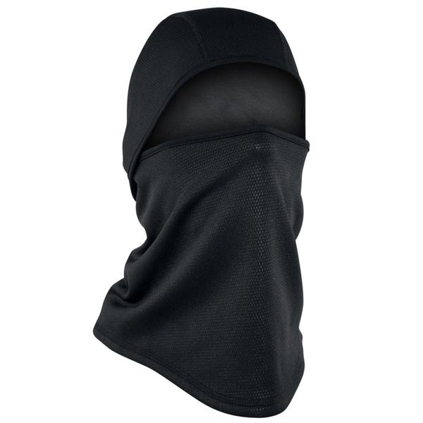WB4W114 Convertible Balaclava, Windproof, Black | Head/Neck/Sleeve Gear