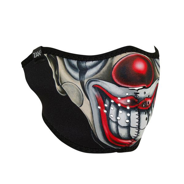 WNFM411H Neoprene Half Face Mask, Chicano Clown | Half Facemasks