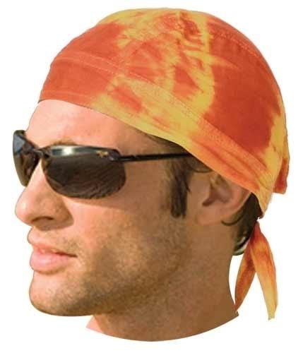HW2678 Headwrap Tie Dye Yellow | Headwraps