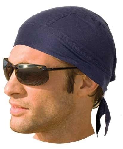 HW2679 Headwrap Solid Navy | Headwraps