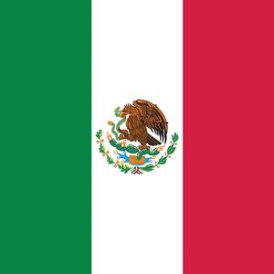 NT4415 Bandana Mexico Flag | Bandanas