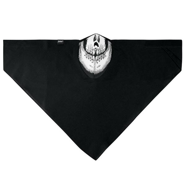 WNEO113 NEODANNA Mask- Cotton/Neoprene- Skull | Half Facemasks