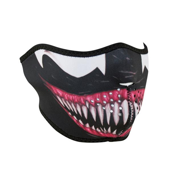 WNFM093H ZAN® Half Mask- Neoprene- Toxic | Half Facemasks