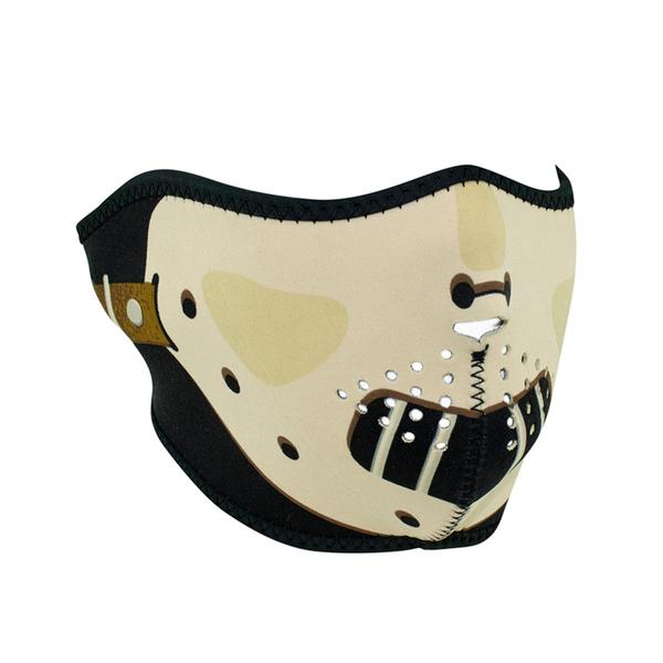 WNFM038H ZAN® Half Mask- Neoprene- Hannibal | Half Facemasks