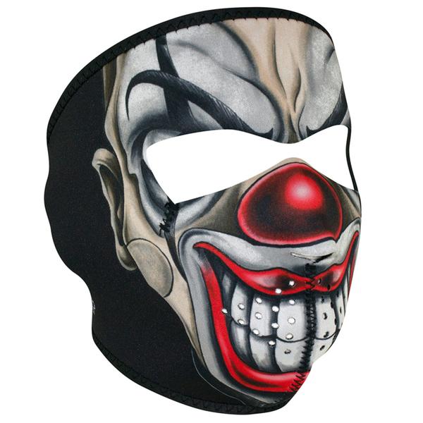 WNFM411 ZAN® Full Mask- Neoprene- Chicano Clown | Full Facemasks