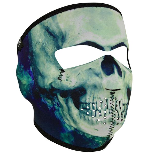 WNFM414 ZAN® Full Mask- Neoprene- Paint Skull | Full Facemasks
