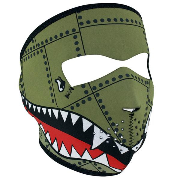 WNFM010 ZAN® Full Mask- Neoprene- Bomber | Full Facemasks
