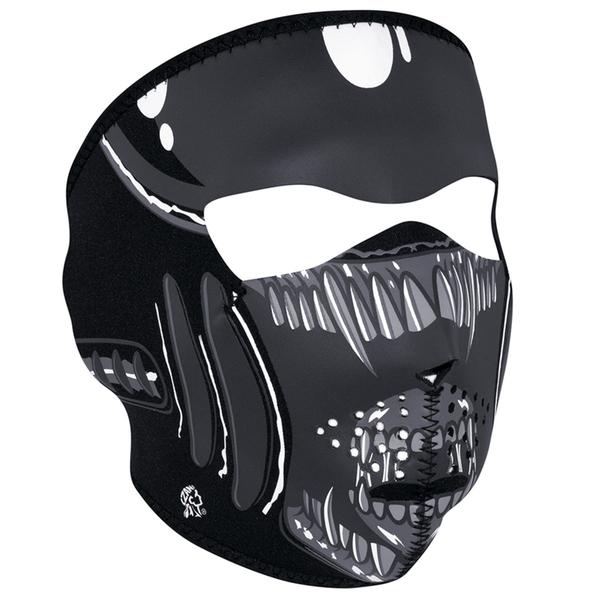 WNFM039 ZAN® Full Mask- Neoprene- Alien | Full Facemasks
