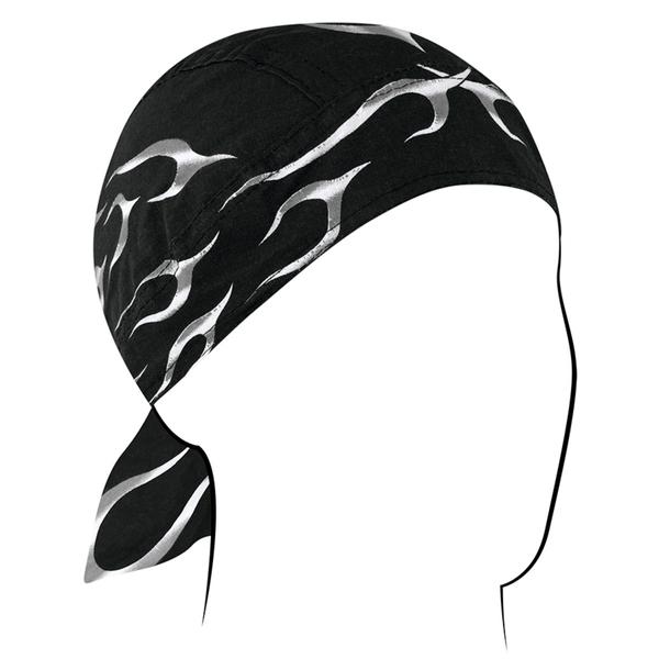 Z353 Flydanna®, Cotton, Black Tank Flame | Headwraps