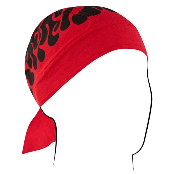 Z229 Flydanna®, Cotton, Flames Red II | Headwraps