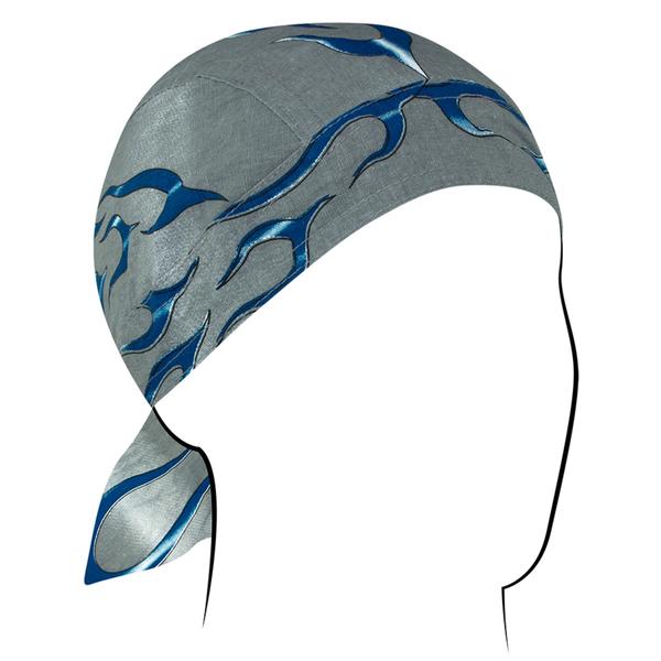 Z354 Flydanna®, Cotton, Blue Tank Flame | Headwraps