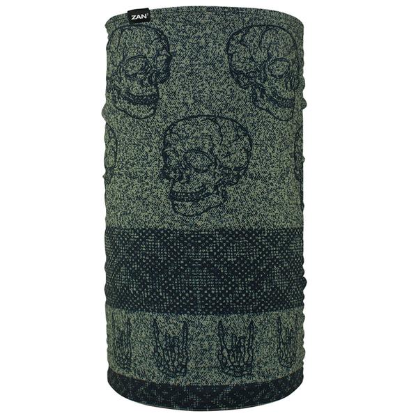 TF123 Motley Tube® Fleece Lined- Skull Fairisle | Head/Neck/Sleeve Gear