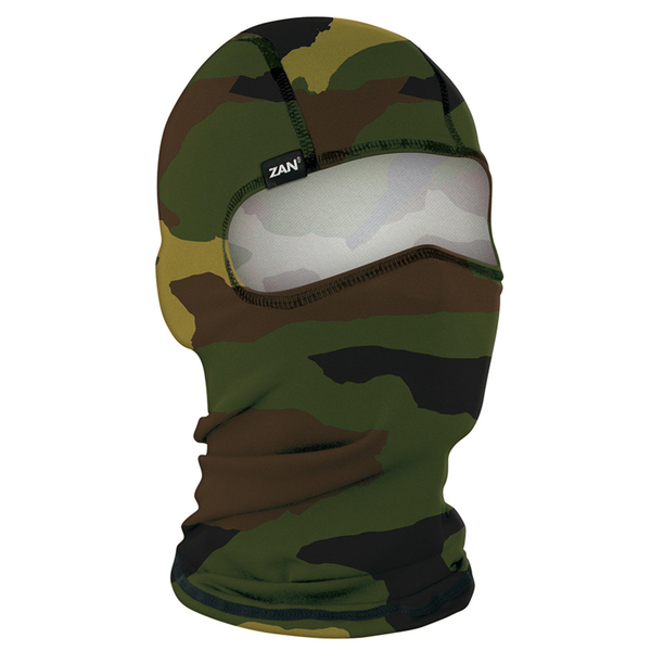 WBP118 Balaclava Polyester- Woodland Camo | Head/Neck/Sleeve Gear