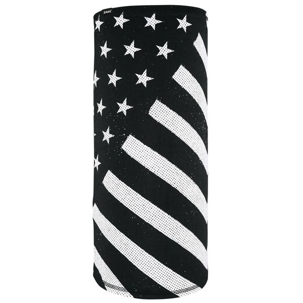 TL091 Motley Tube®, SportFlex™ Series- Black & White Flag | Head/Neck/Sleeve Gear