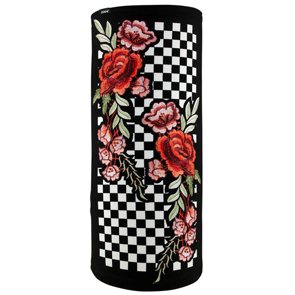 TL421 Motley Tube®, SportFlex™ Series- Checkered Floral | Head/Neck/Sleeve Gear