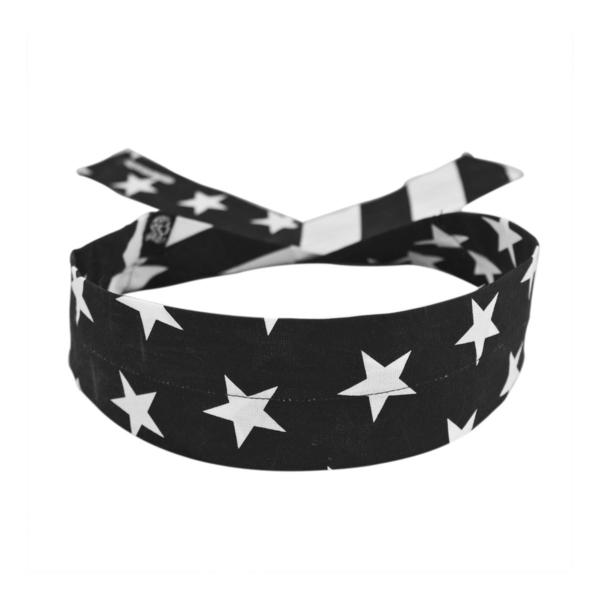 DC219 Cooldanna® Black & White Flag | Head/Neck/Sleeve Gear