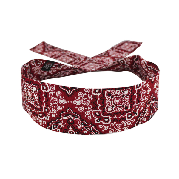 DC106 Cooldanna® Red Paisley | Head/Neck/Sleeve Gear