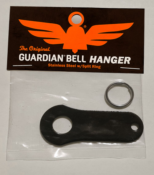 GB Bell H BLK Bell Hanger - Black | Guardian Bells