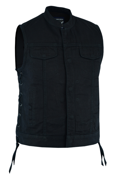 Wholesale Motorcycle Vests |  DS205 Women's Single Back Panel Vest