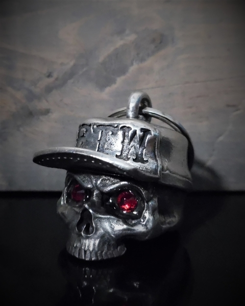 BB-107 FTW Skull Hat Diamond Bell | Bravo Bells