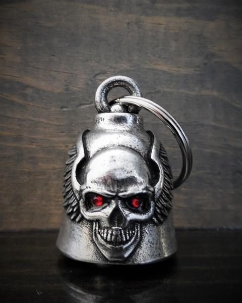 BB-98 Skull Upwing Diamond Bell | Bravo Bells