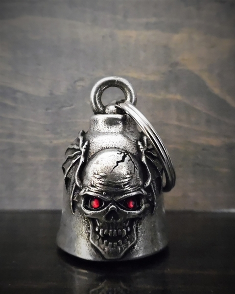 BB-103 Skull Batwing Diamond Bell | Bravo Bells